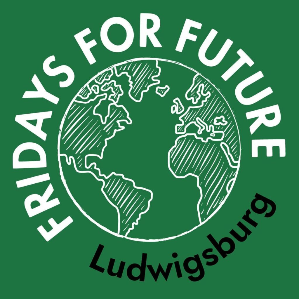 Logo Fridays for Future Ludwigsburg, quadratisch